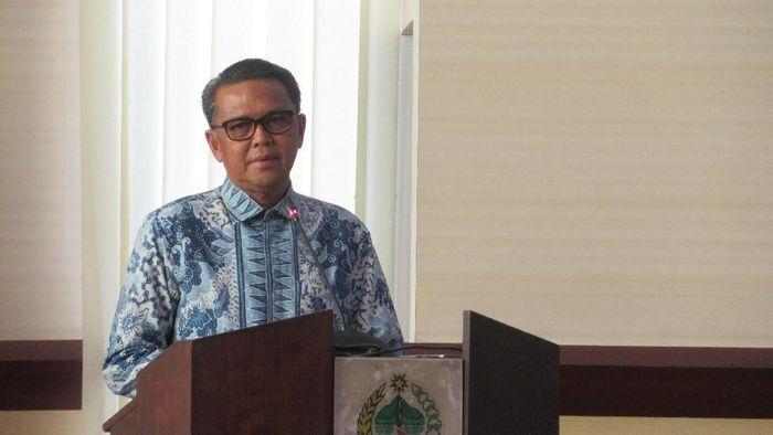 Gubernur Sulawesi Selatan Nurdin Abdullah/Foto: Noval Antony/detikcom