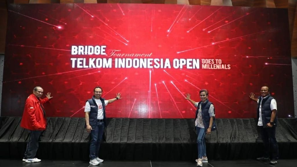 TelkomGroup Gelar Turnamen Bridge Telkom Indonesia Open 2019