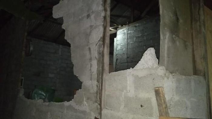 Ilustrasi / Kerusakan akibat gempa di Malut (dok. BNPB)