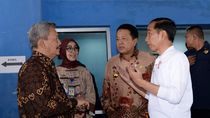 Jokowi Sidak Layanan BPJS di RSUD Abdul Moeloek Bandar Lampung, Ini Hasilnya