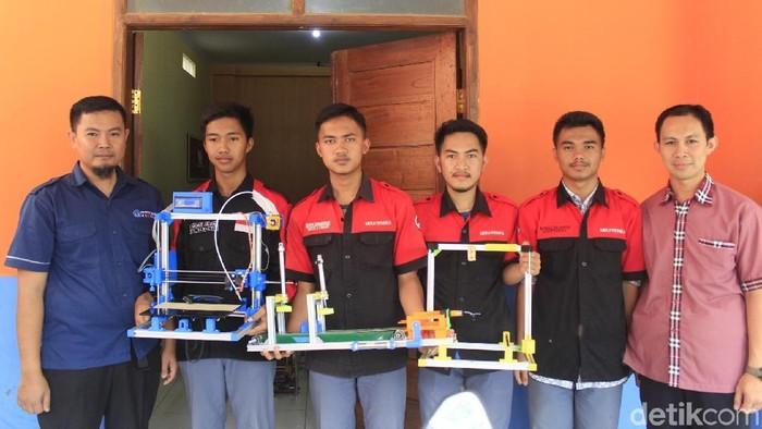 Printer 3D buatan SMKN 2 Cimahi (Yudha Maulana/detikcom)