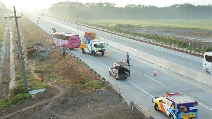 Situasi setelah kecelakaan terjadi/Foto: Istimewa