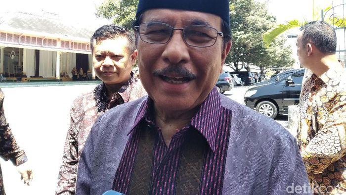 Foto: Menteri ATR Sofyan Djalil (Usman Hadi - detikcom)
