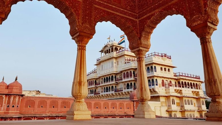 City Palace of Jaipur atau Istana Kota Jaipur, India (Foto: Airbnb/CNN)