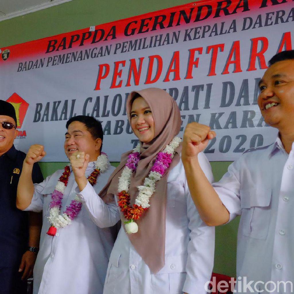 Daftar Lewat Gerindra, Anak Mantan Bupati Karawang Tantang Incumbent