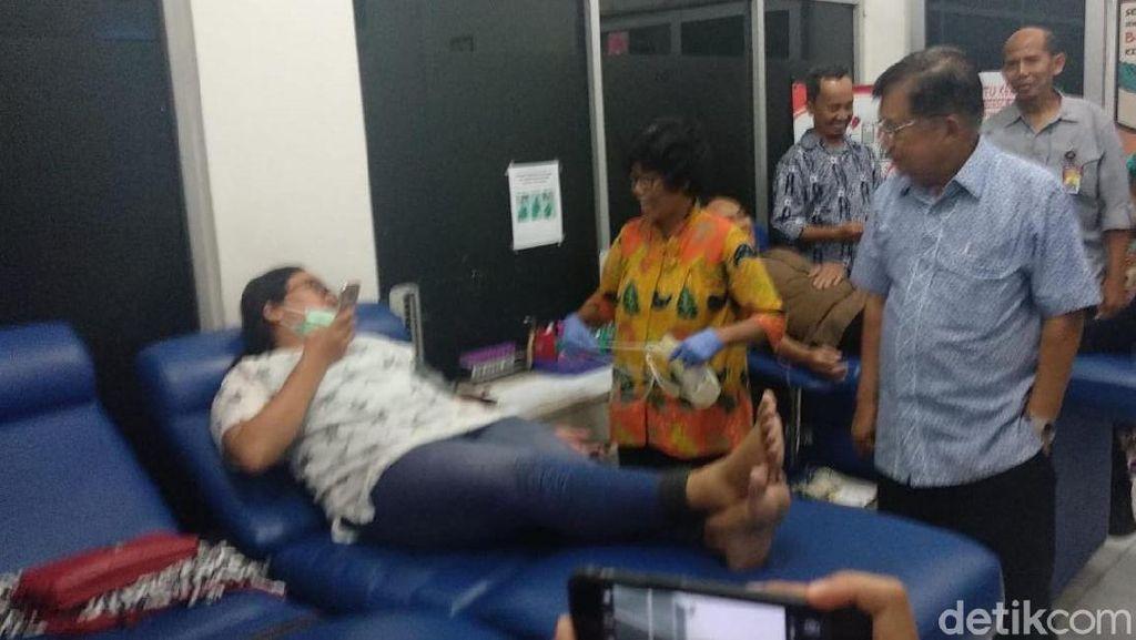 Jusuf Kalla Kunjungan Kerja ke PMI Yogyakarta