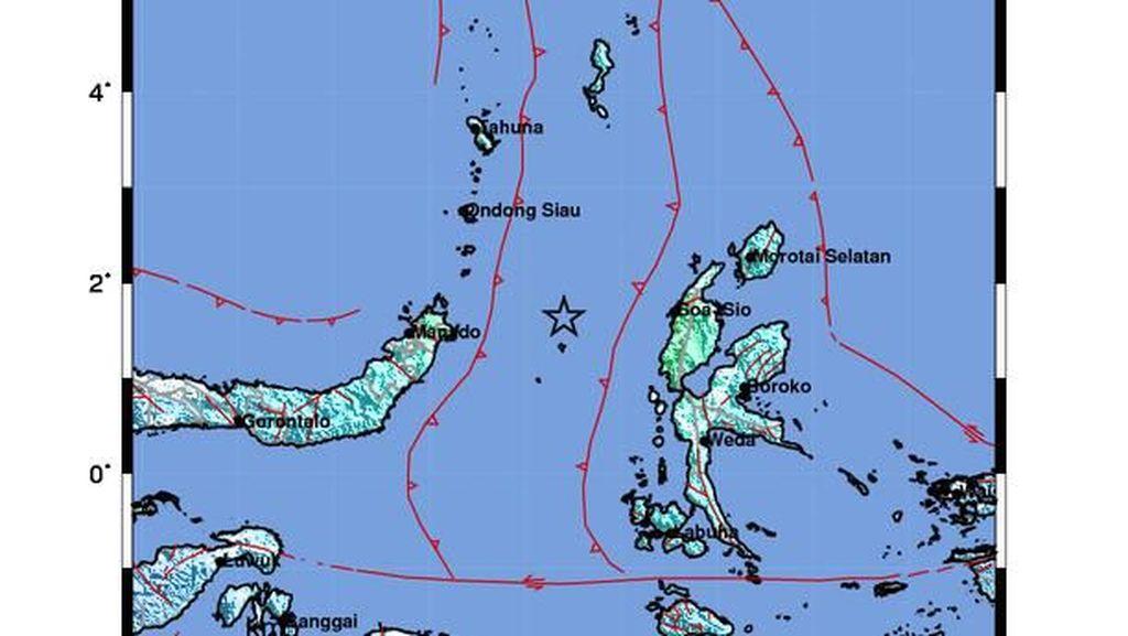 Update Terkini Gempa M 7,1 di Malut yang Berpotensi Tsunami