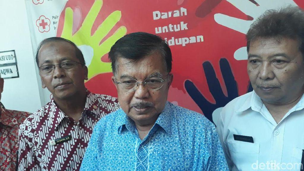 Bom di Medan, JK: Masjid Bukan Tempat Penyebaran Radikalisme!
