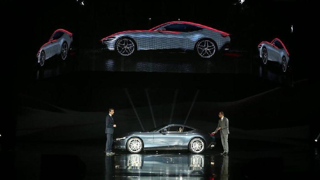 Ferrari dari Nama Ibu Kota Italia Meluncur