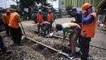 Perawatan Rel untuk Kelancaran Kereta
