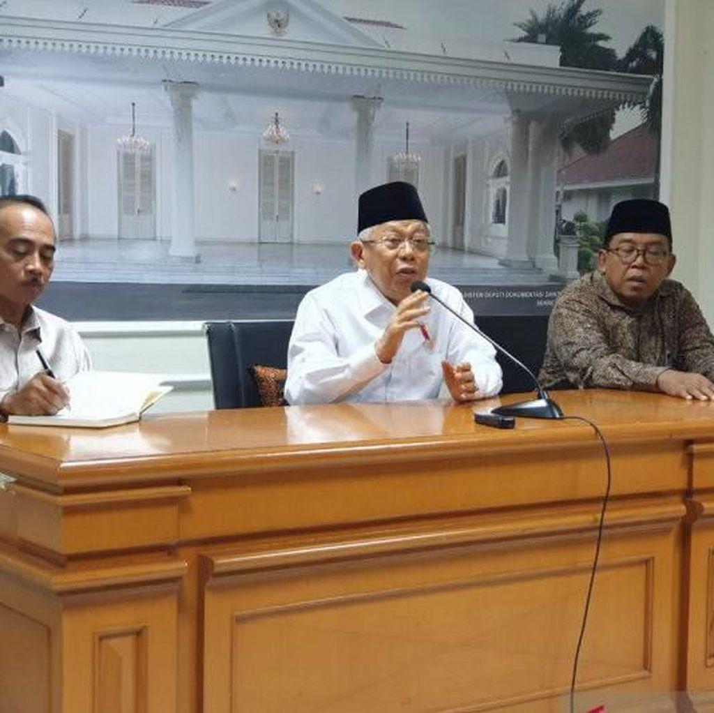 Maruf Amin Soal Ahok Jadi Bos BUMN: Belum Dibahas di Tim Penilai