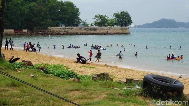 Pantai Tanjung Pinggir Batam (Foto: Ahmad Masaul Khoiri/detikcom)