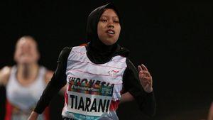 Aksi Pelari Indonesia Karisma Pecahkan Rekor Dunia
