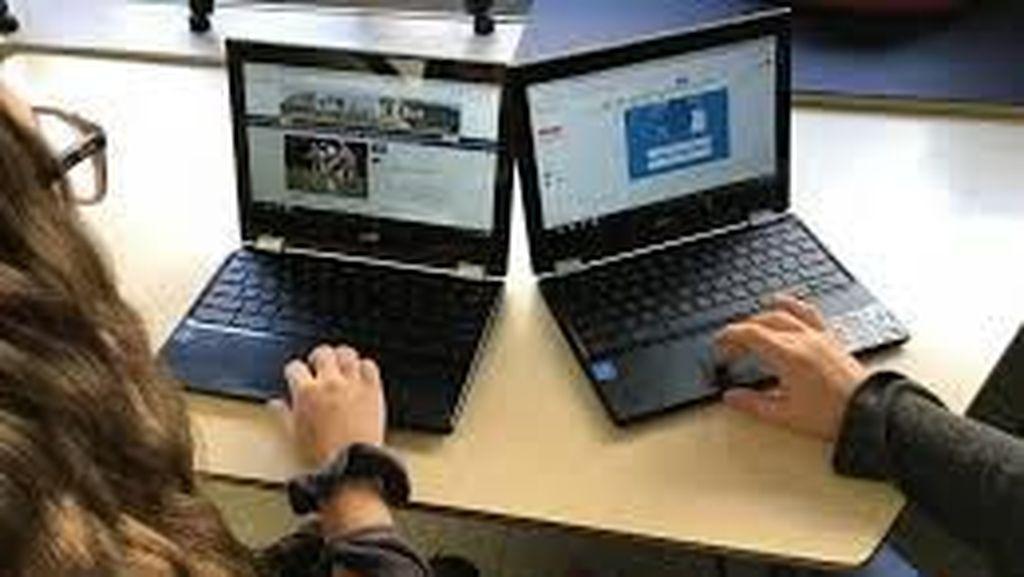 Terdampak Corona, Google Beri Ribuan Chromebook Untuk Siswa