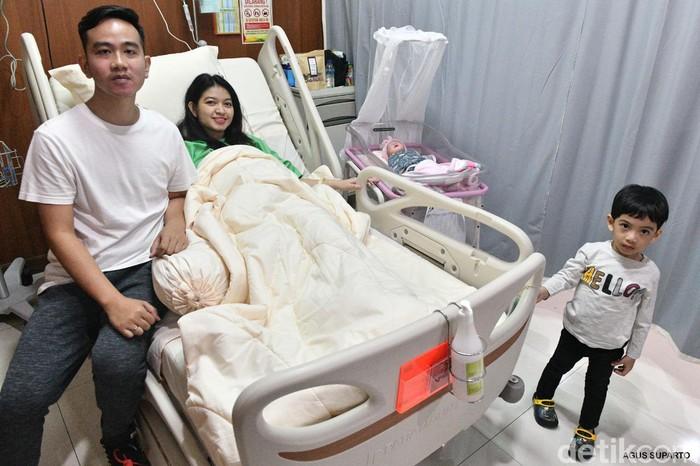 La Lembah Manah, cucu ketiga Jokowi yang lahir pada Jumat (15/11/2019). Foto: Dok. Keluarga