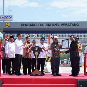 Buka Tol Terpeka, Jokowi: Ini Terpanjang yang Pernah Saya Resmikan