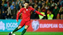 Melempem di Juventus, Ronaldo Tampil Garang dengan Portugal