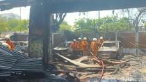 Kebakaran Pasar Beras Diduga Dipicu Bakar Sampah