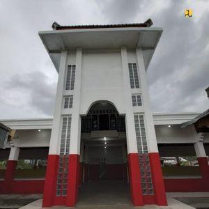 Dipermak Usai Kerusuhan, Ini Bangunan Pasar Wouma di Wamena