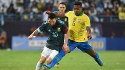 Gol Tunggal Messi Menangkan Argentina Atas Brasil