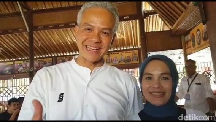 Ganjar dan istri ucapkan selamat atas kelahiran La Lembah Manah, Sabtu (16/11/2019). Foto: Tangkapan layar Instagram Ganjar Pranowo