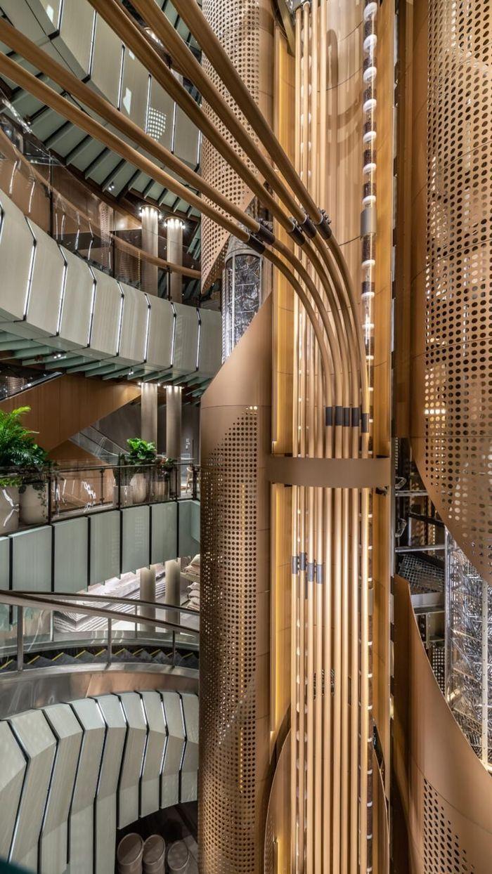 Gerai ini terdiri dari lima lantai dengan luas 35.000 kaki persegi.Foto: Dok. Starbucks