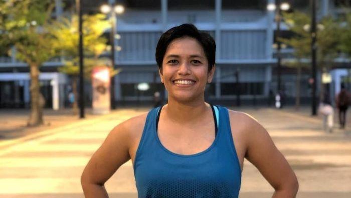 Alia Basalamah, penggagas Fit In Da Park  (dok. pribadi)