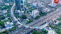 Jembatan Lengkung LRT Kuningan Diuji Pakai 7 Gempa Besar Dunia