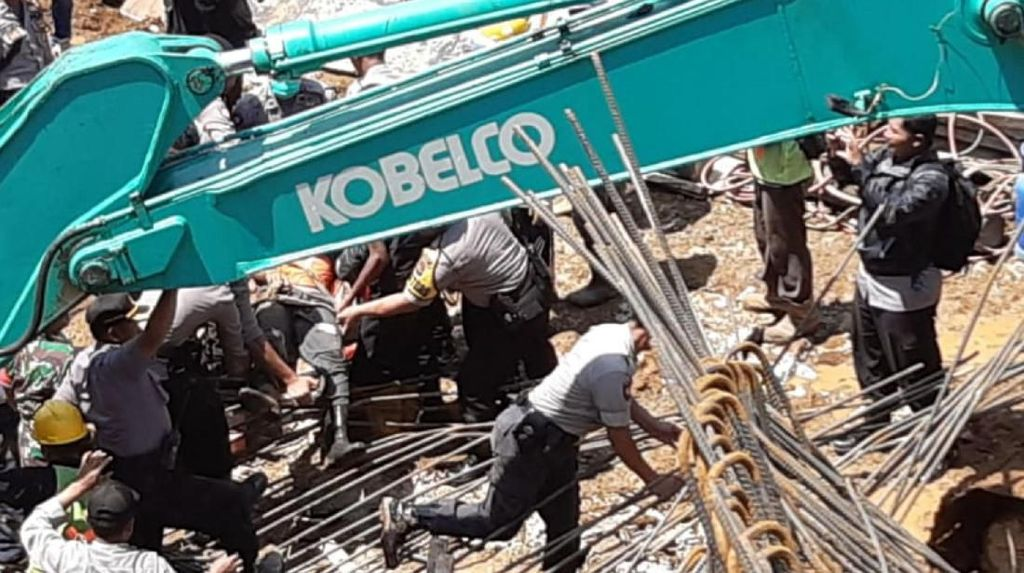 1 Lagi Pekerja Double Track Sukabumi-Bogor Tewas Tertimbun Longsor