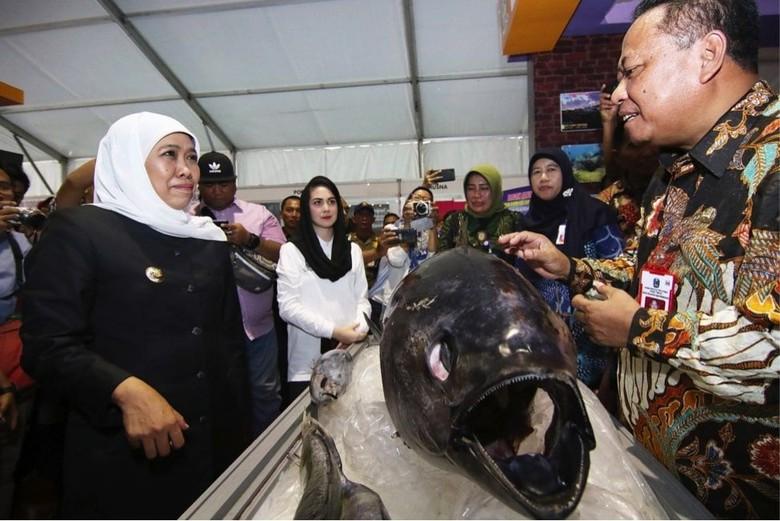 Khofifah Dorong Kreasi Makanan dan Minuman Berbasis Ikan