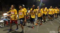 Gerak Jalan Mojokerto Suroboyo Diikuti Hampir 10 Ribu Peserta