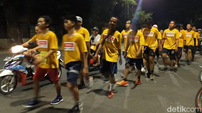 Gerak Jalan Mojokerto Suroboyo (Foto: Deny Prastyo Utomo/detikcom)