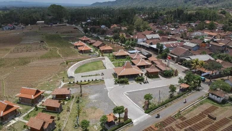 Ilustrasi kawasan wisata Borobudur (Dok. Balkondes)