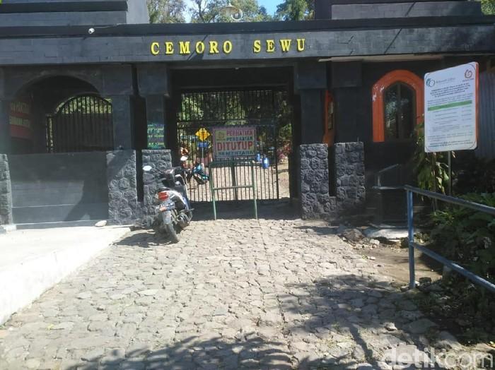 Jalur pendakian melalui Magetan ditutup (Foto: Sugeng Harianto/detikcom)
