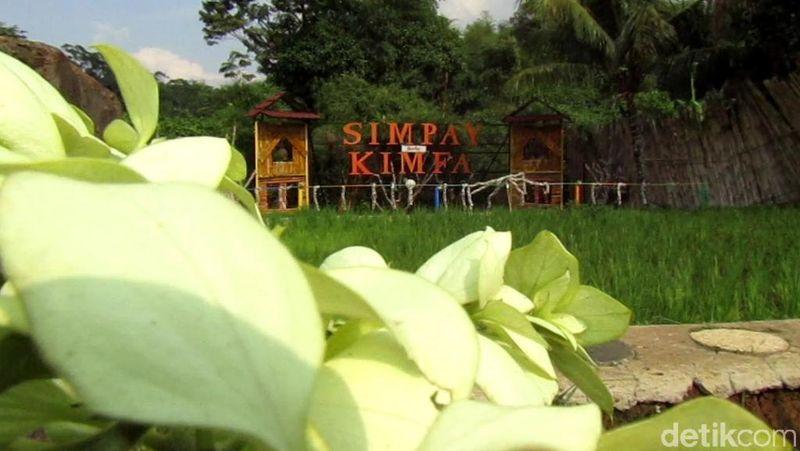 Objek wisata selfie bermunculan di Kabupaten Bandung. Setelah Candy House di Ciwidey, kini ada Simpay Kimfa di Kecamatan Banjaran (Wisma/detikcom)
