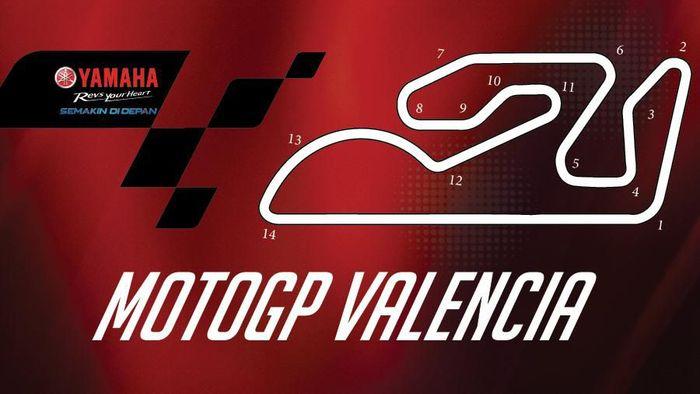 MotoGP Valencia dalam infografis. (Foto: dok.detikcom)