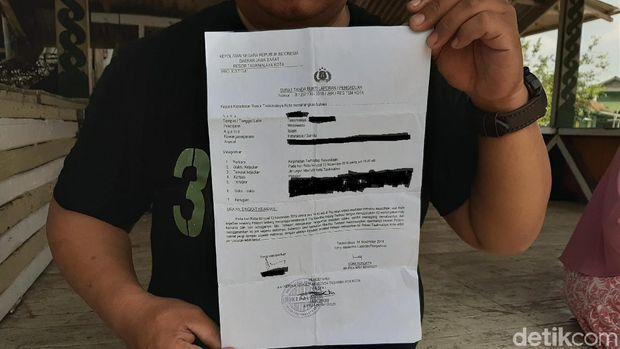 Korban pelemparan sperma oleh ekshibisionis di Tasikmalaya melapor ke polisi.