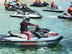 Naik Jetski, Gubernur Nurdin dengar Keluhan Warga Kepulauan Spermonde