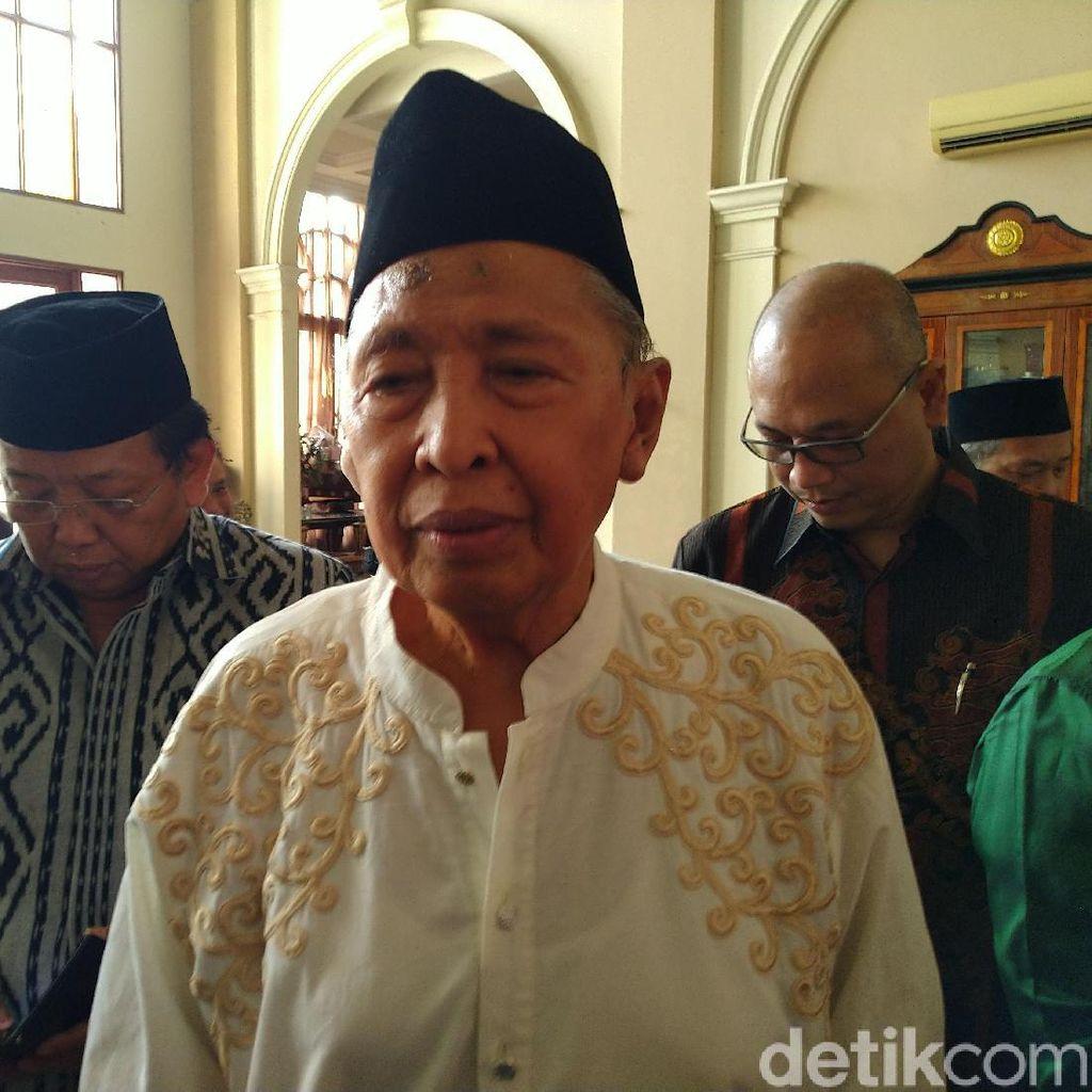 Hamzah Haz Nasehati Sukmawati Agar Hati-hati Berbicara