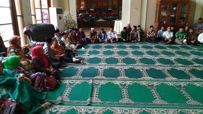 Silaturahmi PPP ke Politikus Senior Hamzah Haz (Sachril/detikcom)