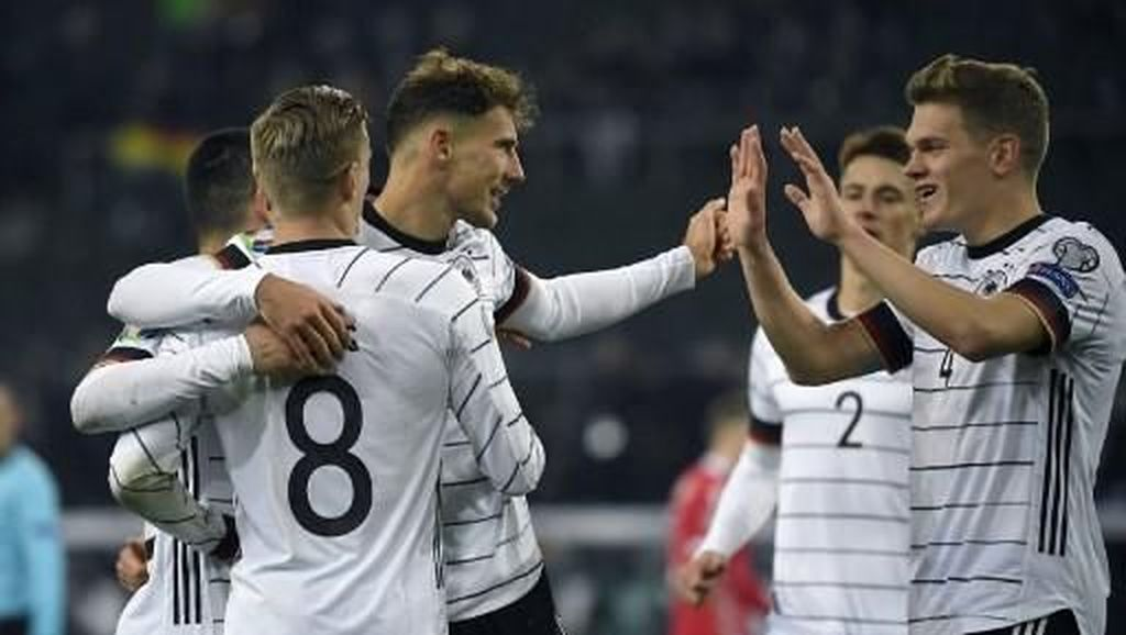 Jerman Lolos ke Piala Eropa Usai Hantam Belarusia 4-0