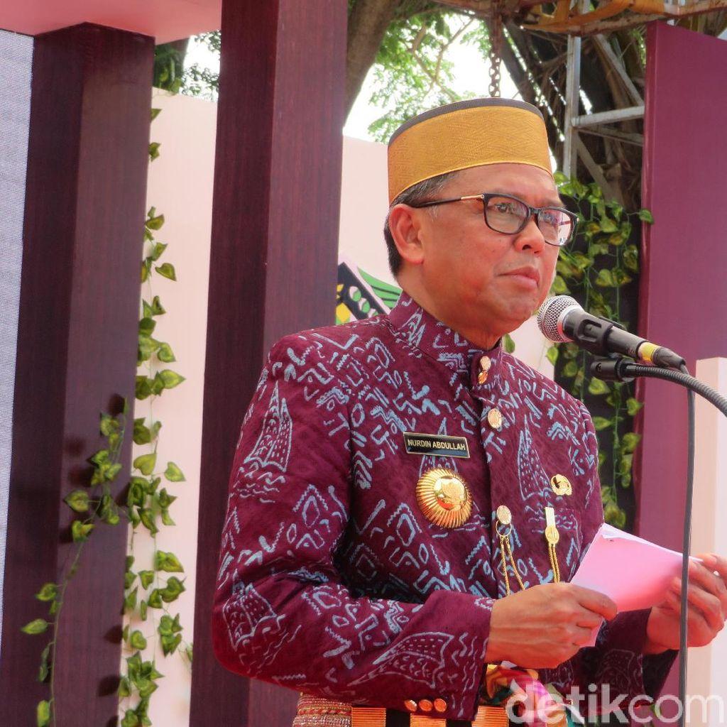 Gubernur Sulsel Beri Kado Bantuan Rp 50 M di HUT ke-699 Gowa