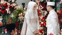 Menikah Lagi, Cantiknya Dian Pelangi dengan Gaun Pengantin Putih