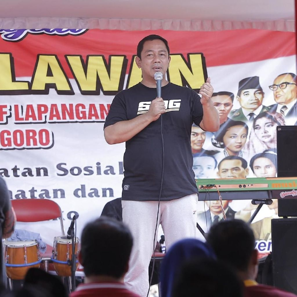 Walkot Semarang Apresiasi 1.025 PKL Diponegoro