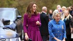 Kunjungi Anak-anak, Dress Kate Middleton Jadi Sorotan