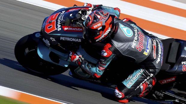 Fabio Quartararo meraih pole keenam di MotoGP 2019.