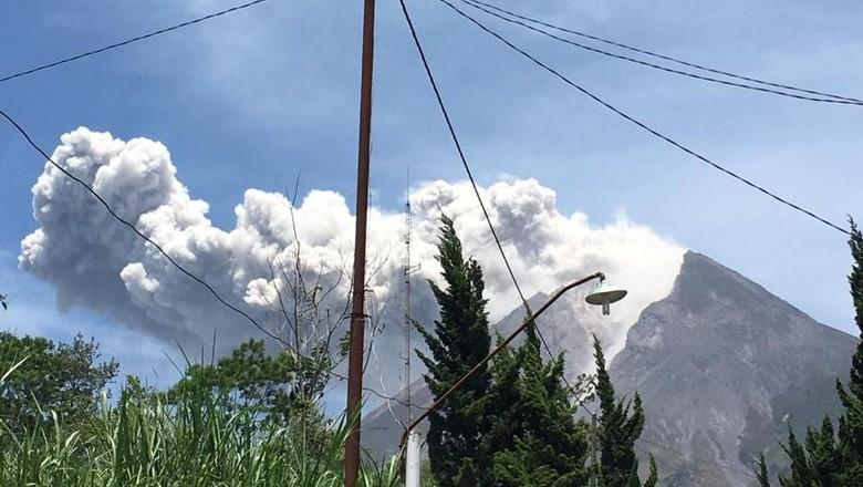 Gunung Merapi Meletus, Warga Lereng di Klaten Tak Dengar Gemuruh
