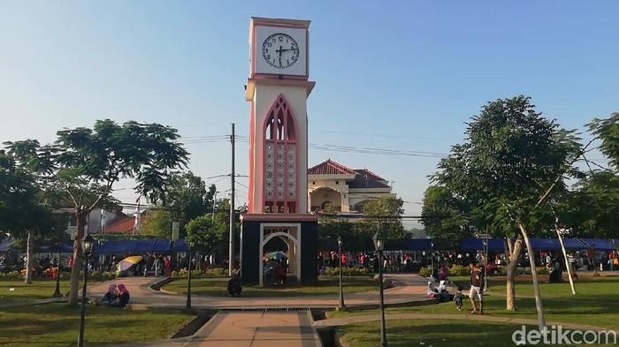 Taman GOR Pasuruan (Foto: Muhajir Arifin/detikcom)