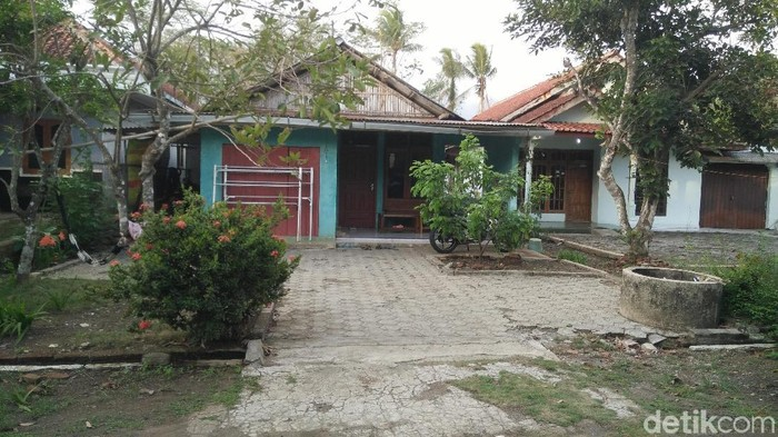 Rumah yang digeledah Densus 88. Foto: Arbi Anugrah/detikcom