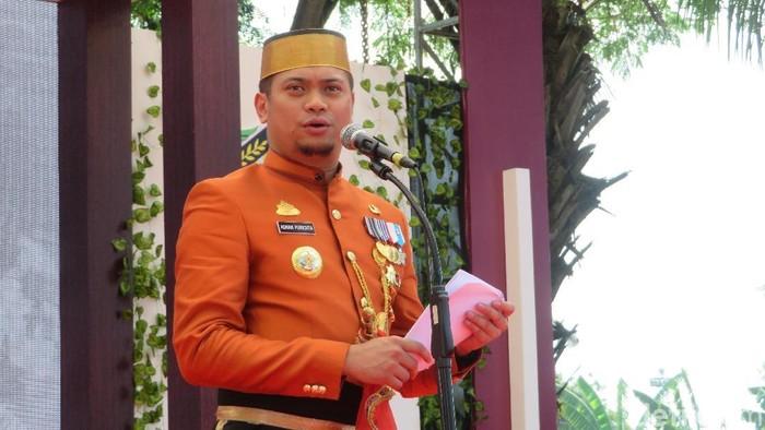 Bupati Gowa Adnan Purichta Ichsan (Noval Dhwinuari/detikcom)